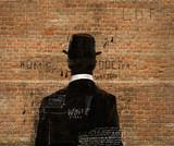Fototapety Мужчина в шляпе