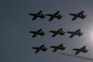 formazione aerei diamante
