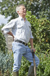Senior Man Suffering From Back Pain Whilst Gardening - 70393763