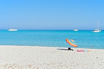 Saleccia beach, Corsica, France
