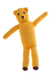 Wool teddy bear - crafts