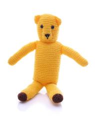 Wool teddy bear - crafts