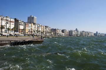 Sea shore of Izmir, Turkey