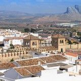 Andalusia - Antequera townscape poster