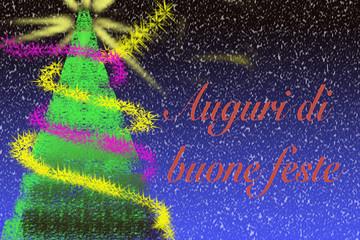 Cartolina di buone feste