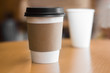 Two paper coffee cups - 70395768