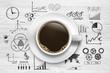 Coffee break / Business Symbols
