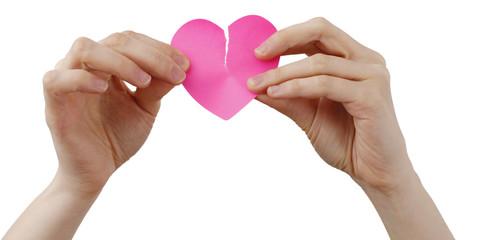 Heart shape Posst It