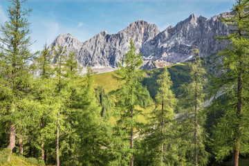 The south face of Dachstein massif - Austria