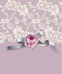 Vector of Vintage lace