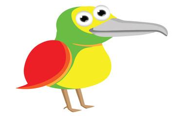 cute baby bird cartoon