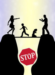 Stop the Family Fight for the sake of the children