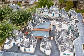 Trulli di Alberobello, Italy in Miniature Park, Rimini