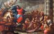 Padua - Paint of Jesus entry into Jerusalem (Palm Sunday)