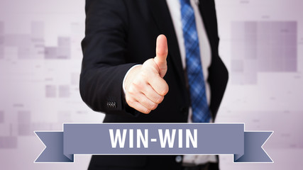 thumbs up to win-win situation