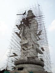 Guan Yin under construction