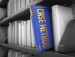 Case Method - Title of Blue Book.