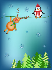 children christmas illustration