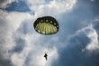 Parachutist in the war - 70403781