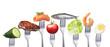 Gesunde fettarme Ernährung - 70405191