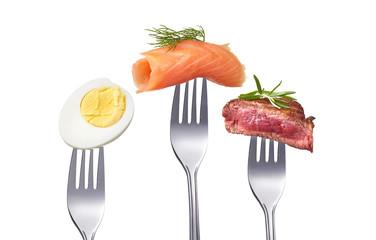 Gute und frische Ernährung