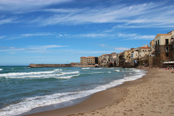 Coast of cefalù