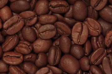 Hintergrund - Kaffeebohnen