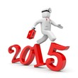 Doctor run to new year
