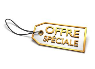 offre spéciale sticker