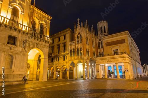 Padua - The Caffe Pedrocchi and part of Palazzo del Podesta