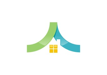 house,real estate,logo,build,finance,company,corporate,business