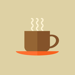 Coffee. Drink Flat Icon