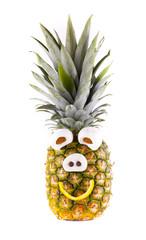 Lustige Ananas