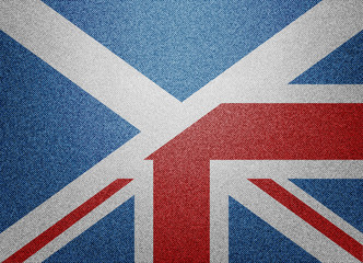 Great Britain & Scotland flag