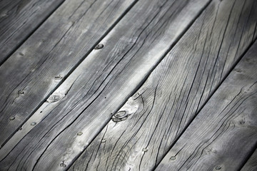 Grey wood planks diagonal