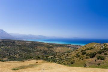 Panorama della costa Palermitana