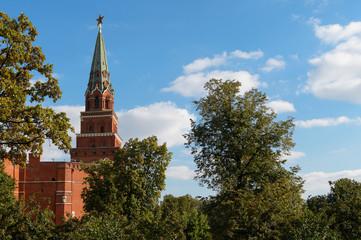 The Borovitskaya Tower, Kremlin