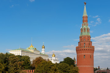 The Water Pump (Vodovzvodnaya) Tower and The Great Kremlin Palac