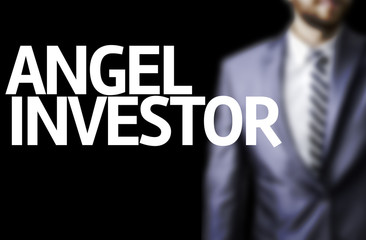 Angel Investor written on a board