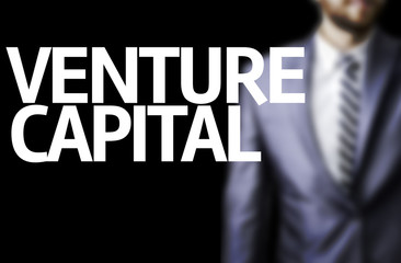 Venture Capital written on a board
