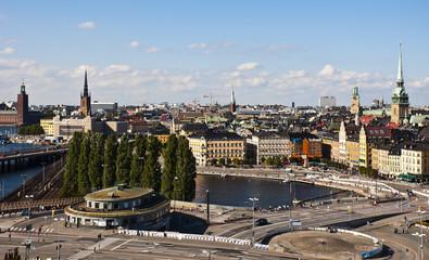 Stockholm View from Katarina Elevator