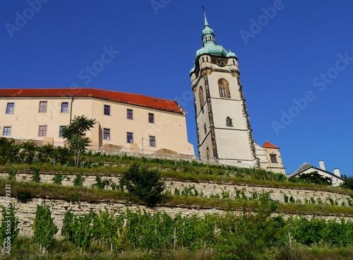 canvas print picture Burg Melnik