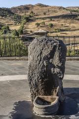 Fontana di pietra lavica, Randazzo - Sicilia