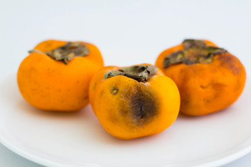 Rotten persimmon
