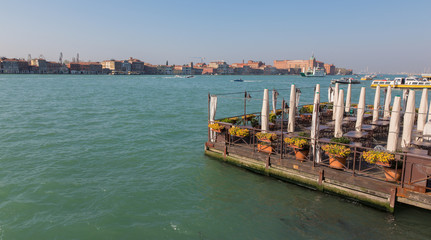 Venice - Restauration on the waterfront