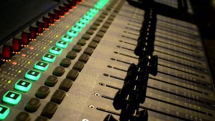Sound recording studio mixete