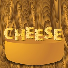 cheese letters and cheese