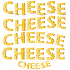 cheese letters