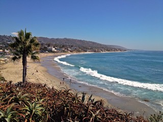Beautiful Coastline of Famous Laguna Beach, California, USA