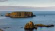 Leinwanddruck Bild - Sheep Island, Northern Ireland